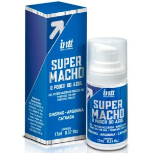 Super Macho o Poder do Azul Gel Masculino