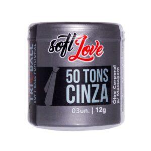 Bolinha 50 Tons de Cinza