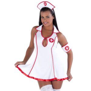 Fantasia Doutora Vestido Amareto